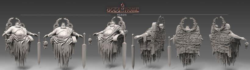 """Personajes para """"Gods of Rome"""" 4"""