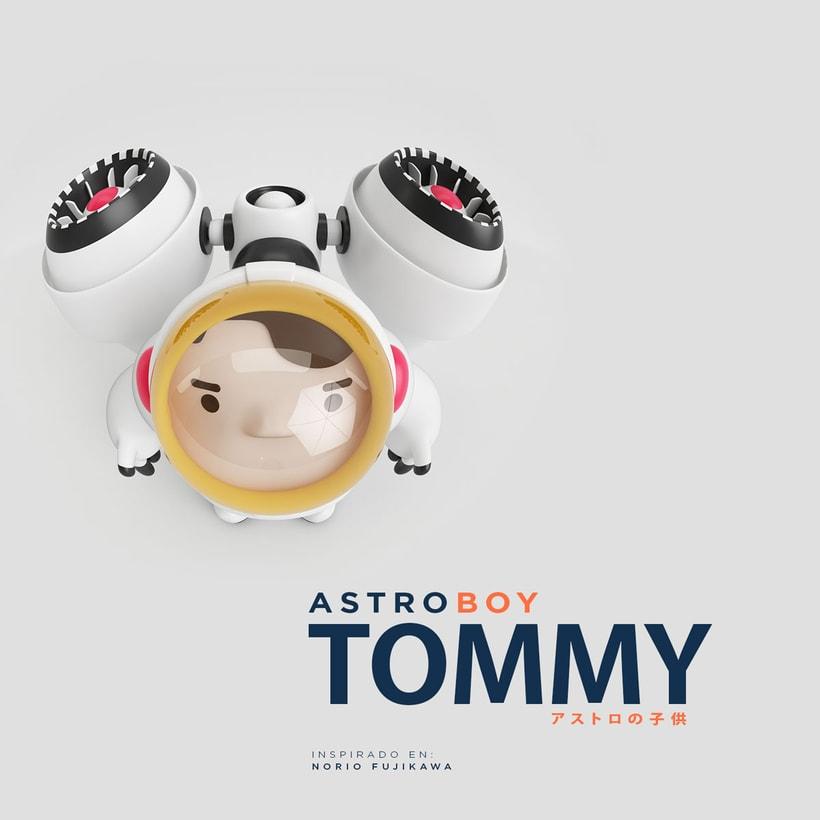 AstroBoy::Tommy  / Creación de personajes 0