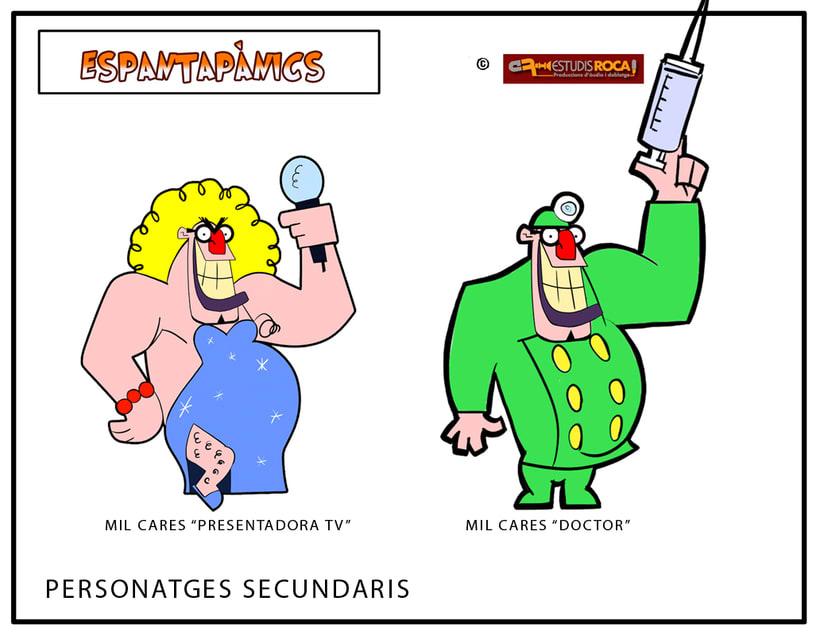 Espantapanics, serie de TV 13