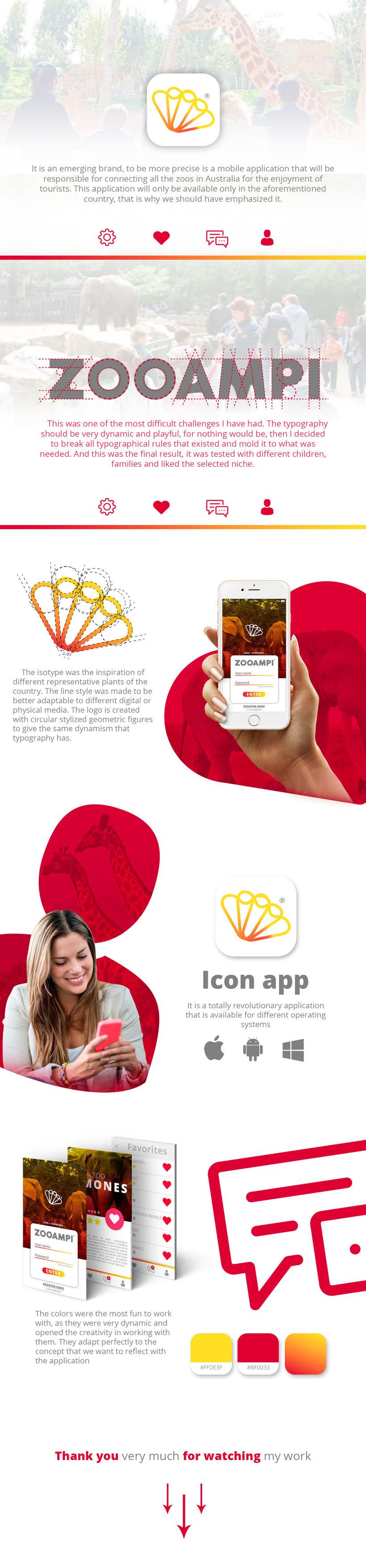 ZOOAMPI | Diseño de marca. -1