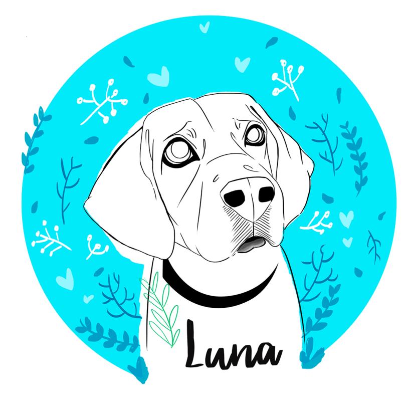 Luna. Ilustración para el recuerdo. 1