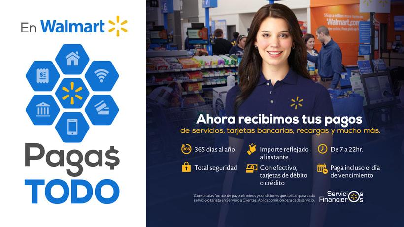 Walmart + BA + Superama + Sam´s / Campaña Servicios Financieros / 2016-17 -1