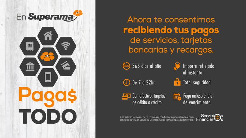 Walmart + BA + Superama + Sam´s / Campaña Servicios Financieros / 2016-17 0