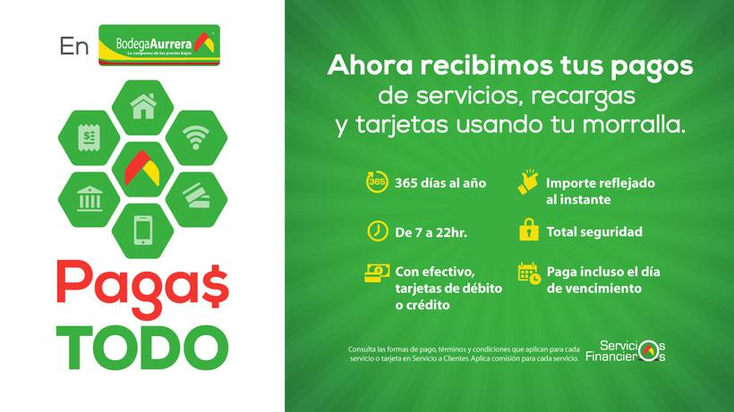 Walmart + BA + Superama + Sam´s / Campaña Servicios Financieros / 2016-17 1