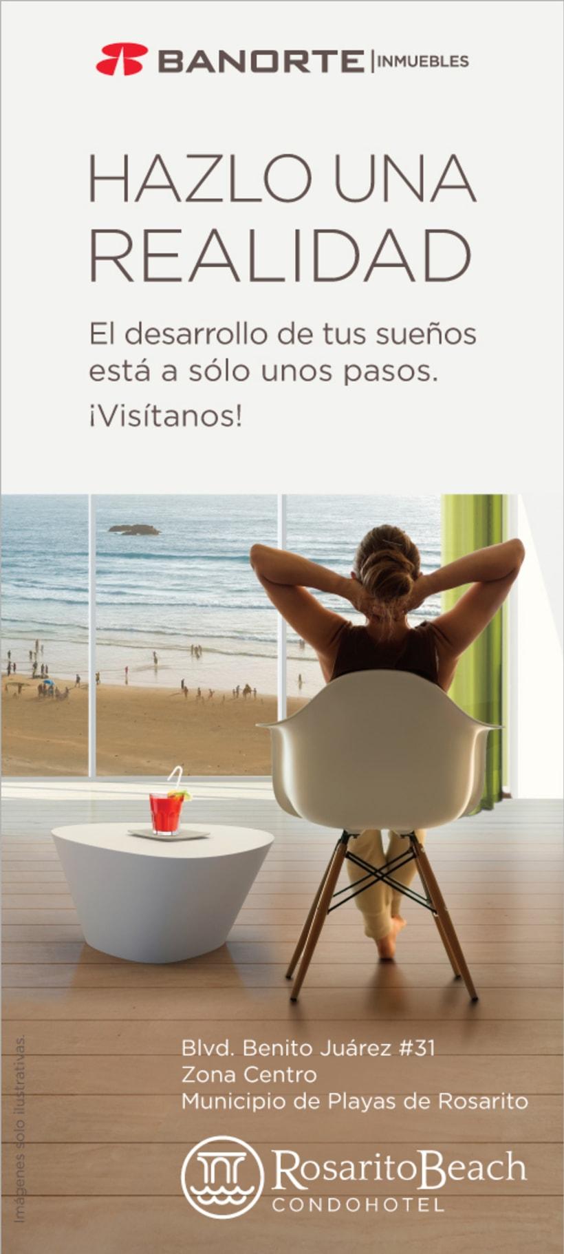 """Banorte (Inmuebles) / Campaña Inmobiliaria """"Rosarito"""" / 2016 0"""