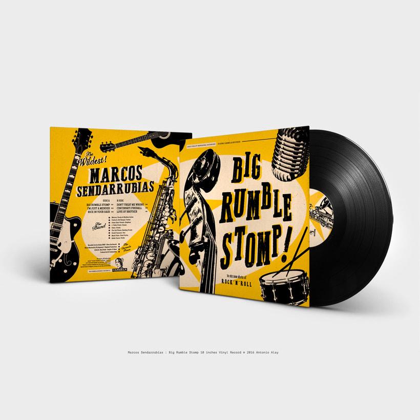 "Sendarrubias 10"" Vinyl Record 0"