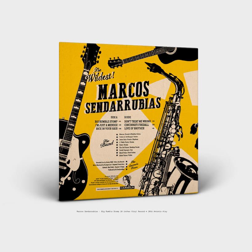 "Sendarrubias 10"" Vinyl Record 1"