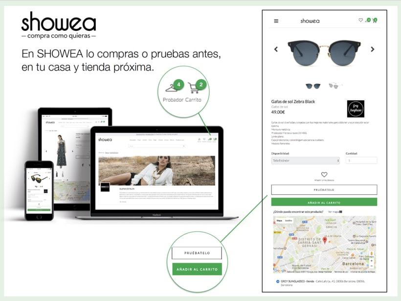 Desarrollo Web y App para SHOWEA.com -1