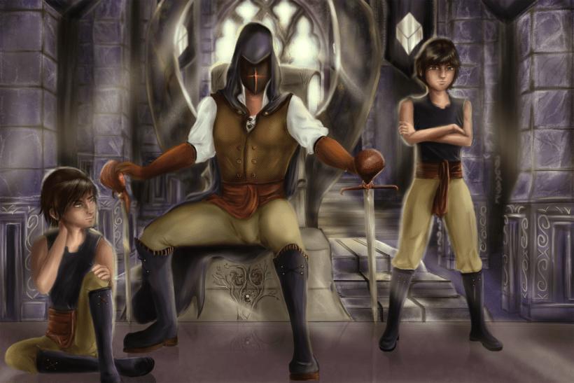 La Sala del Trono Libro El Rey sin Rostro -1