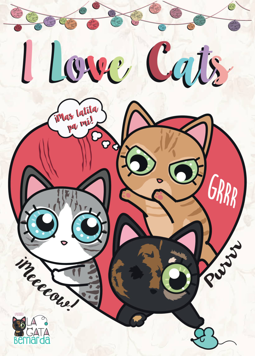 Ilustraciones Catlovers 0