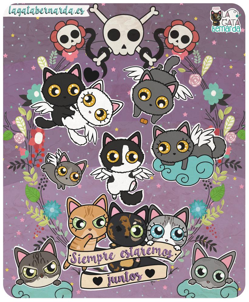 Ilustraciones Catlovers 4