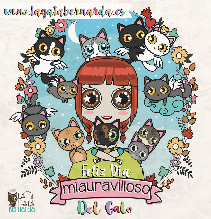 Ilustraciones Catlovers 5