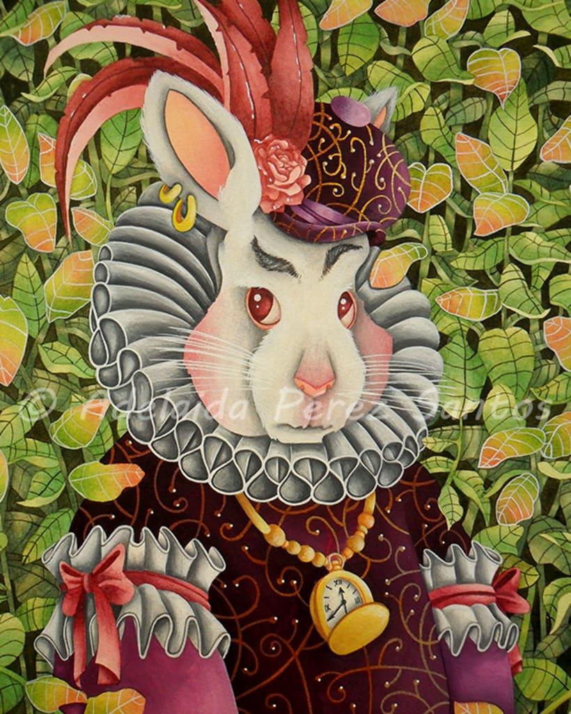 The white rabbit -1