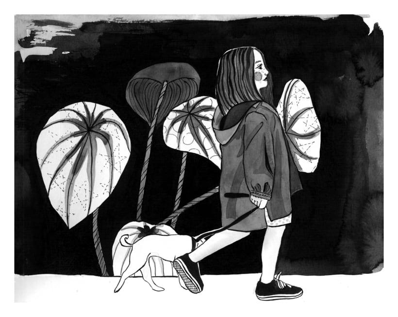 El Paseo: Introducción a la ilustración con tinta china:  0