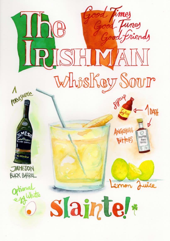 Carta de Cocktails para Street66, Dublin 1