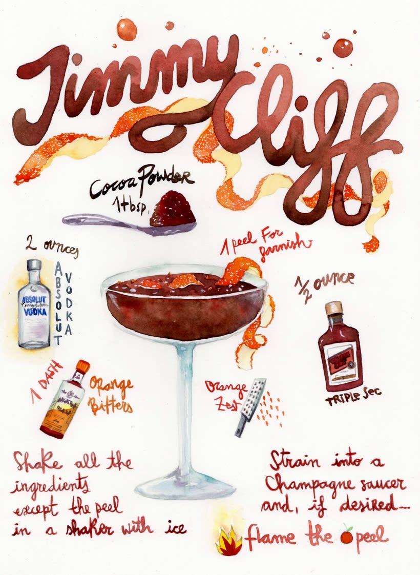 Carta de Cocktails para Street66, Dublin 2
