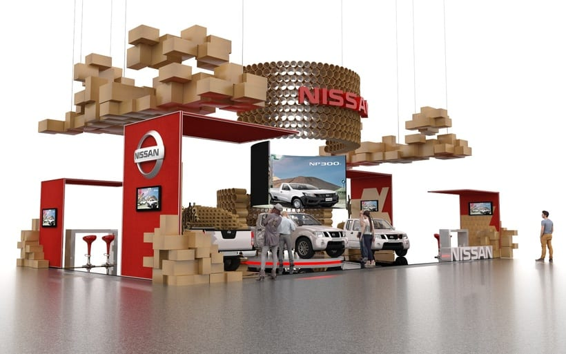 STAND NISSAN  1