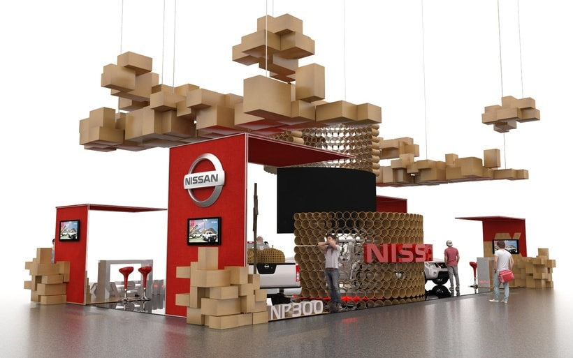 STAND NISSAN  3
