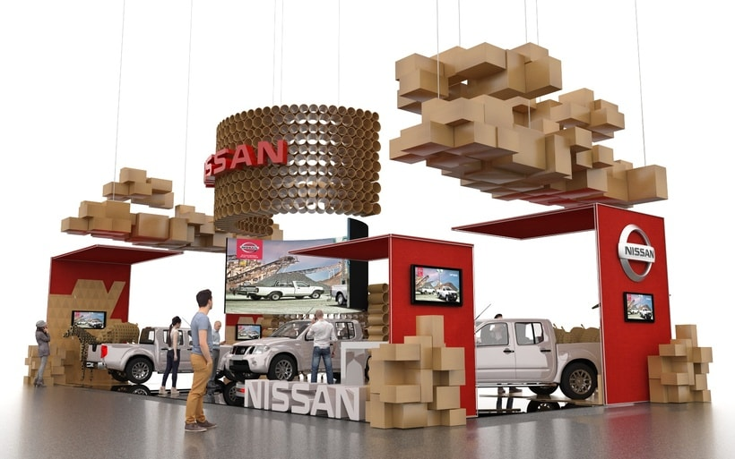 STAND NISSAN  4