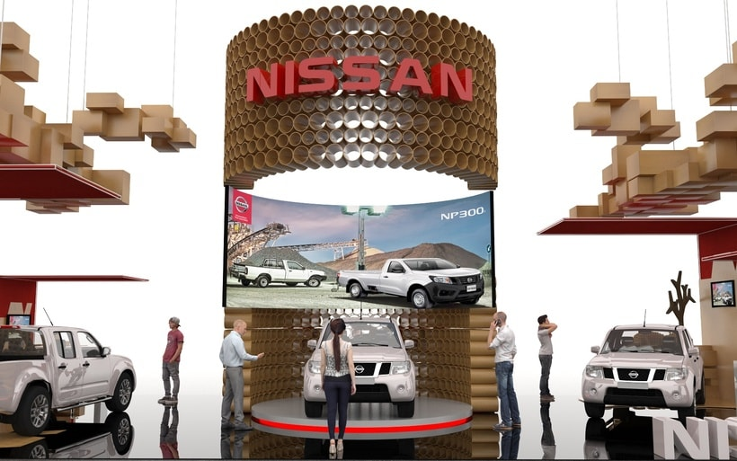STAND NISSAN  5