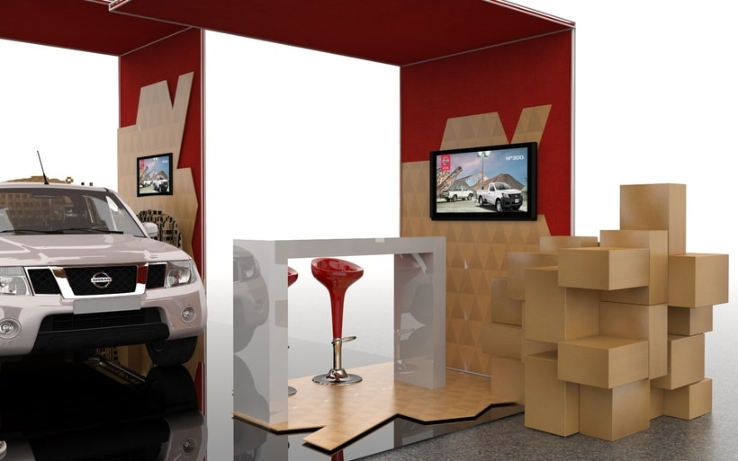 STAND NISSAN  8