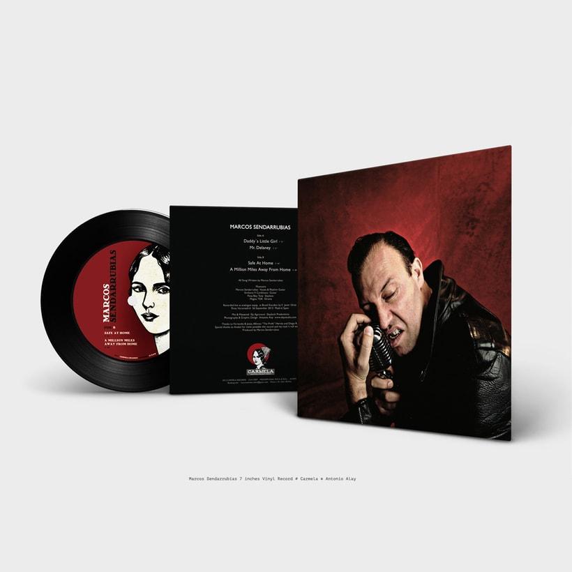 "Sendarrubias 7"" Vinyl Record -1"