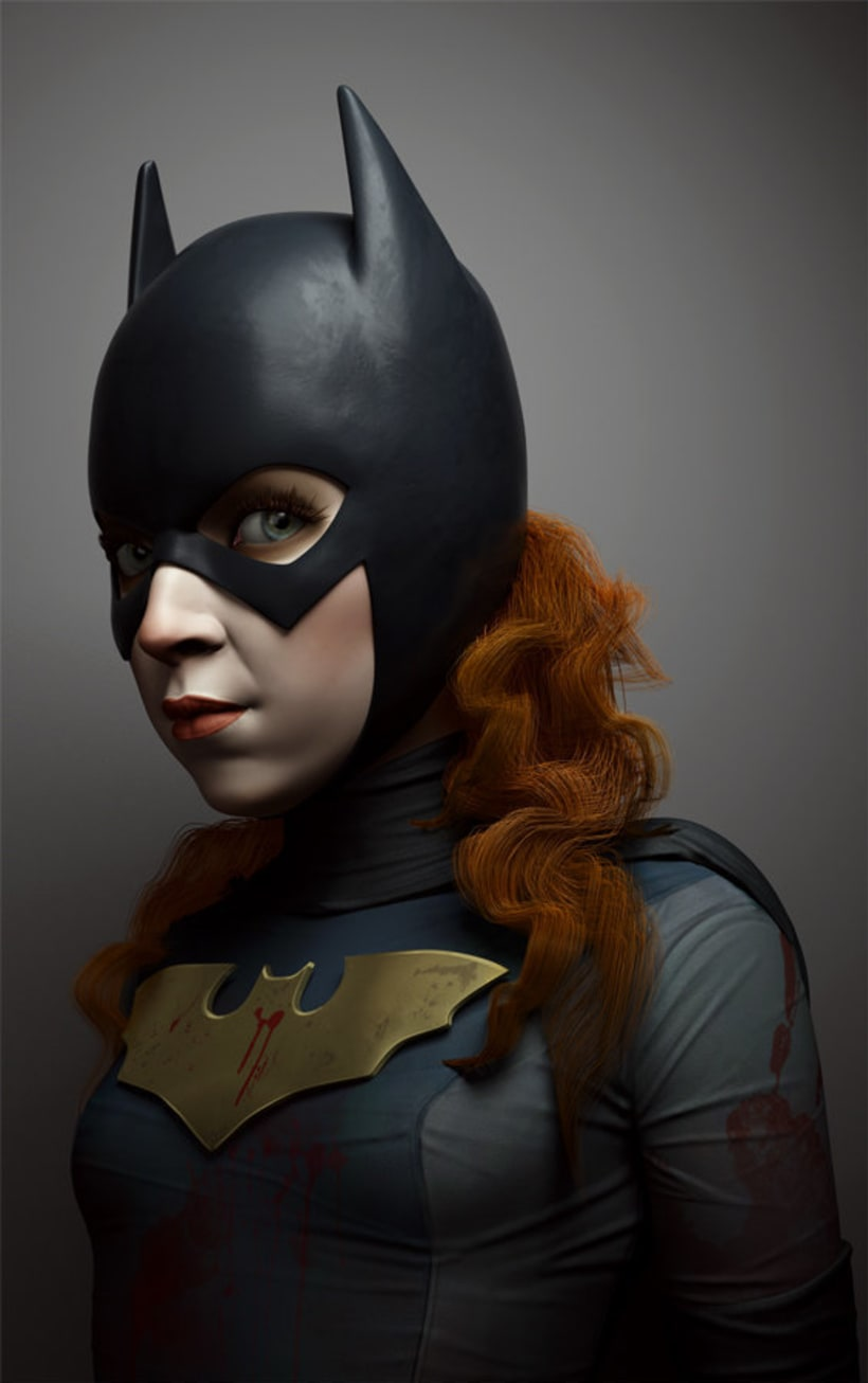 Gotham Characters: Batgirl and Robin 0