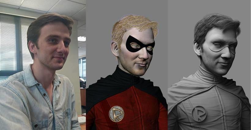 Gotham Characters: Batgirl and Robin 6