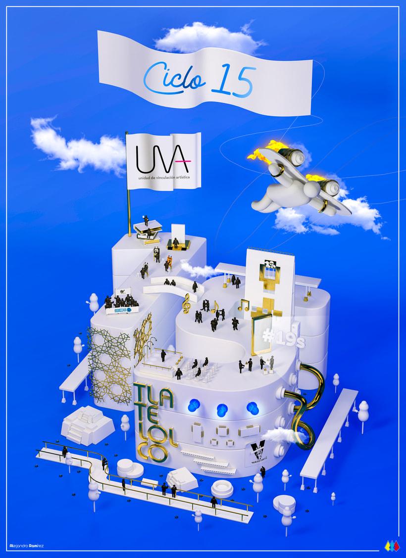 Ciclo 15 de la Unidad de Vinculación Artística (UVA) | Centro Cultural Universitario Tlatelolco 0