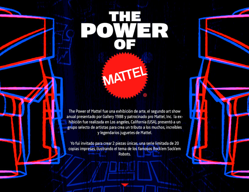 THE POWER OF MATTEL - ART SHOW -1