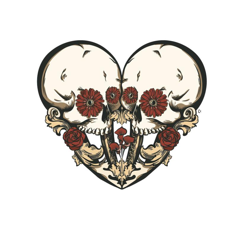 Dead heart. (Digital illustration) 8