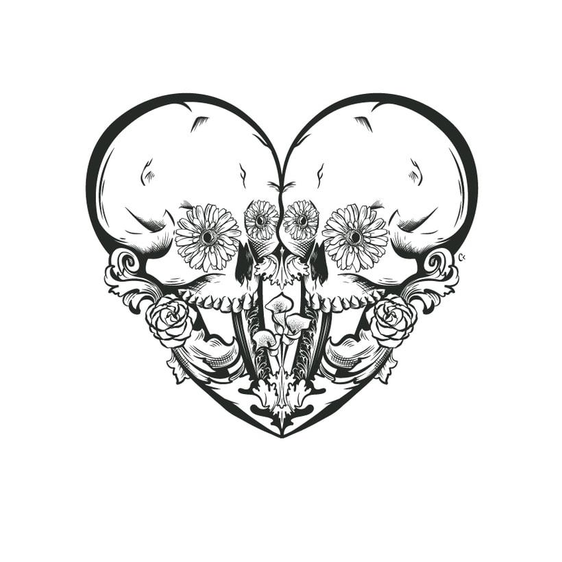 Dead heart. (Digital illustration) 7