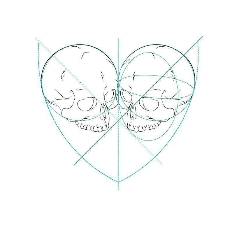 Dead heart. (Digital illustration) 0