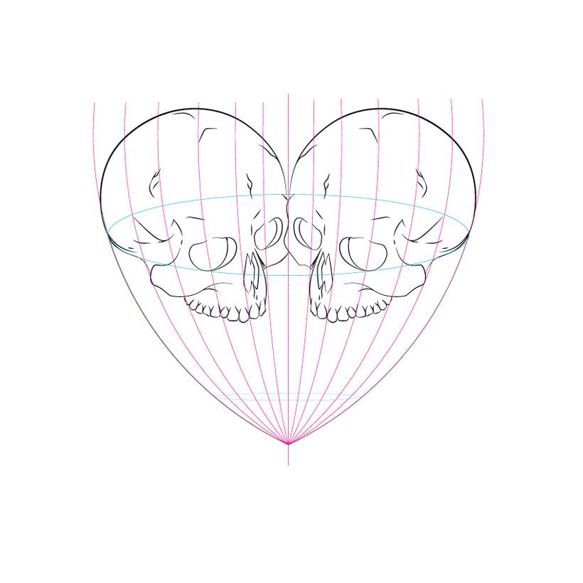 Dead heart. (Digital illustration) 1