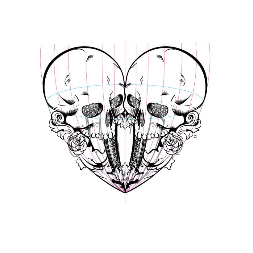 Dead heart. (Digital illustration) 3