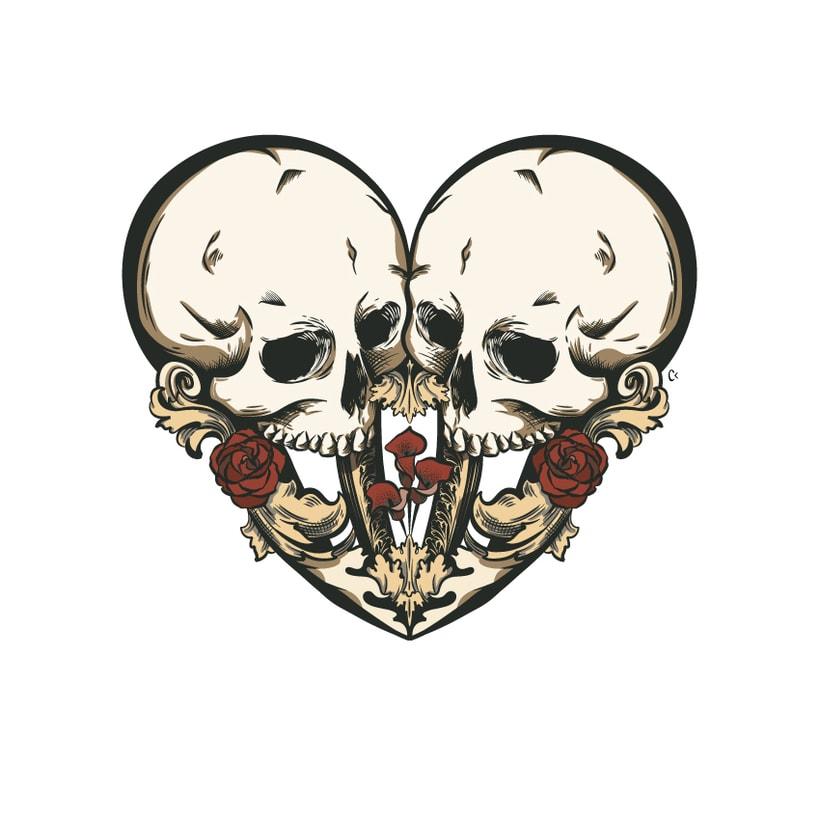 Dead heart. (Digital illustration) 6