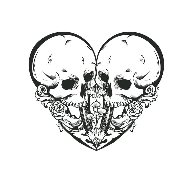 Dead heart. (Digital illustration) 4