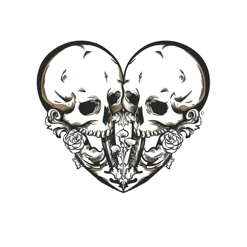 Dead heart. (Digital illustration) 5