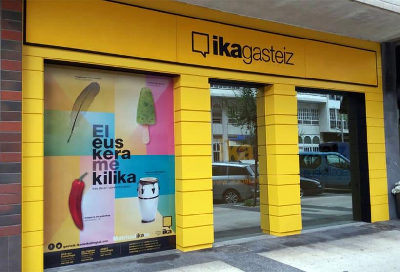 Campaña El euskera me kilika. IKA 12