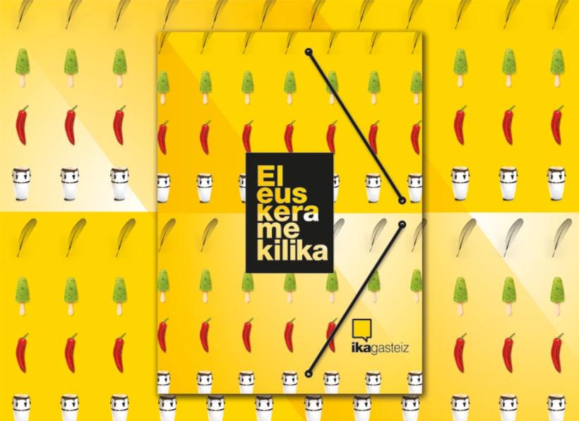 Campaña El euskera me kilika. IKA 10