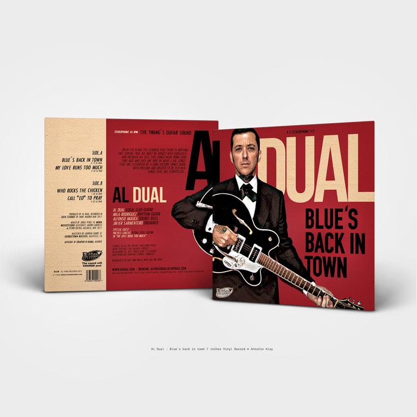 """Al Dual 7"""" Vinyl Record 0"""