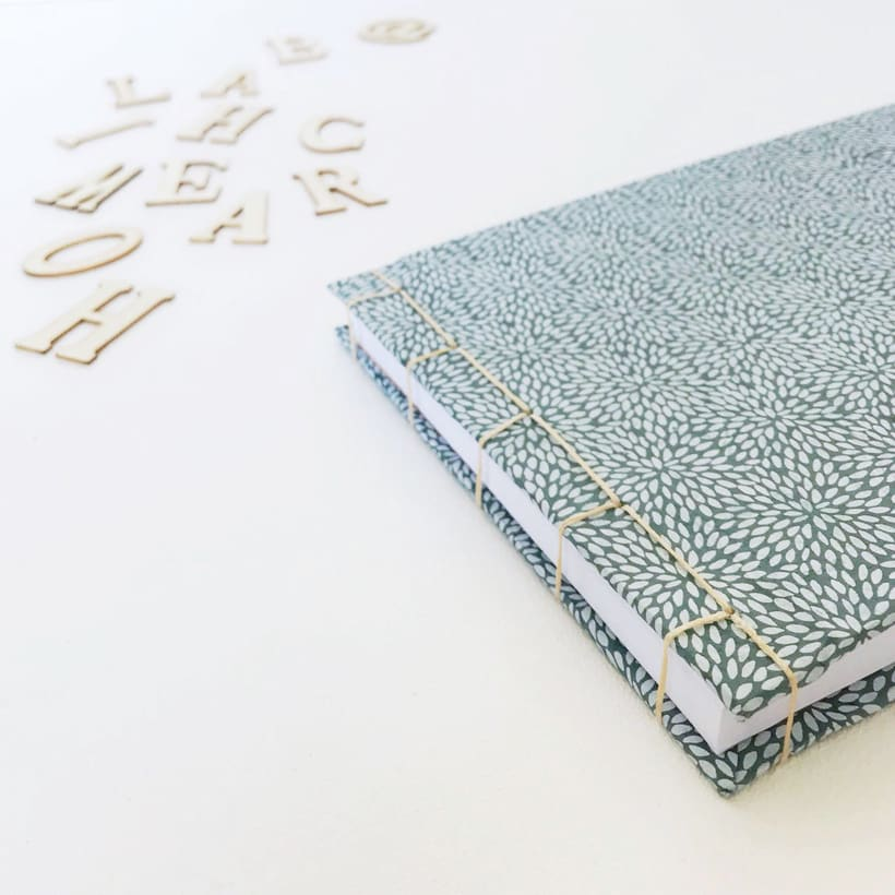 Home archiLAB, decoration creativa y DIY: LIBRETA HAND MADE 3