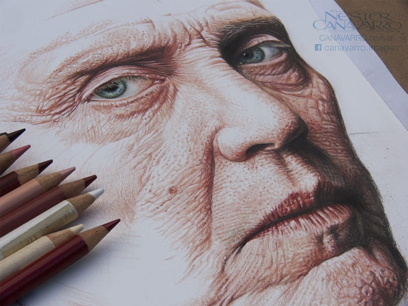Christopher Walken en lápices de colores 3