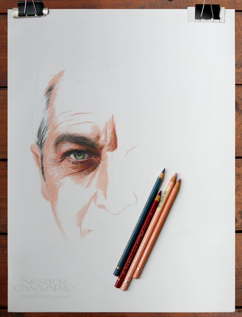 Ricardo Darín en Lápices de Colores 1