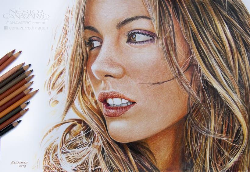 Kate Beckinsale en Lápices de Colores 5
