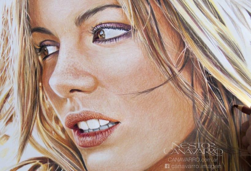 Kate Beckinsale en Lápices de Colores 4