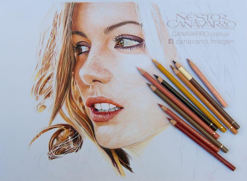 Kate Beckinsale en Lápices de Colores 2