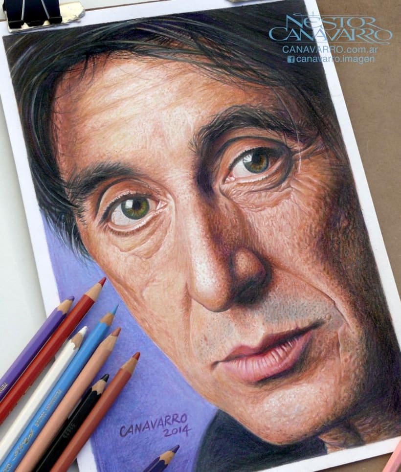 Al Pacino en Lápices de Colores 0