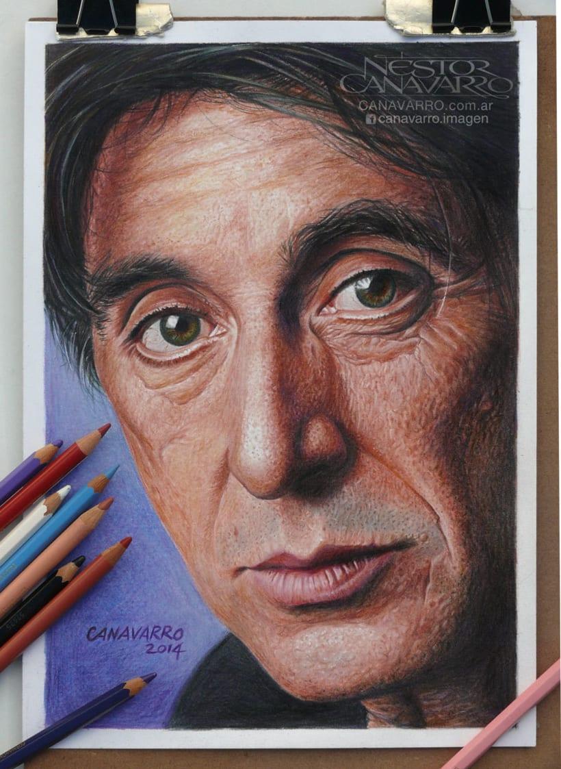 Al Pacino en Lápices de Colores 6