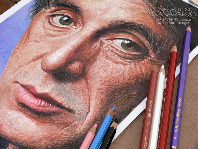 Al Pacino en Lápices de Colores 1